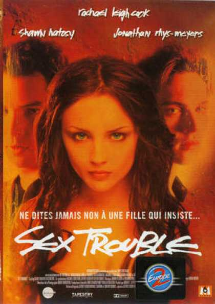 French DVDs - Sex Trouble
