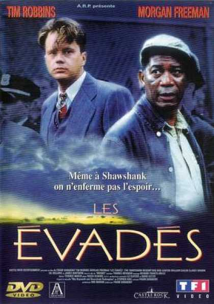 French DVDs - The Shawshank Redemption