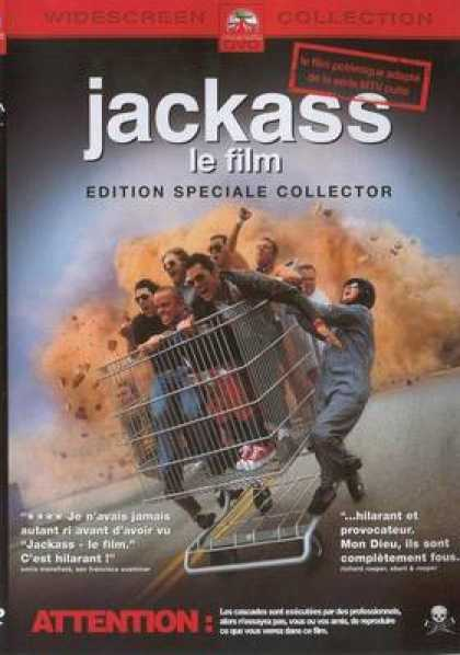 French DVDs - Jackass The Movie