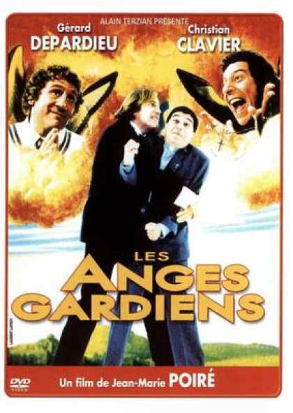 French DVDs - Les Anges Gardiens