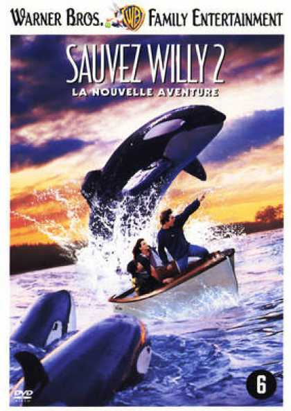French DVDs - Free Willy 2