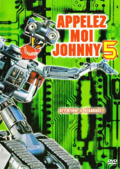 French DVDs - Appelez Moi Johnny 5