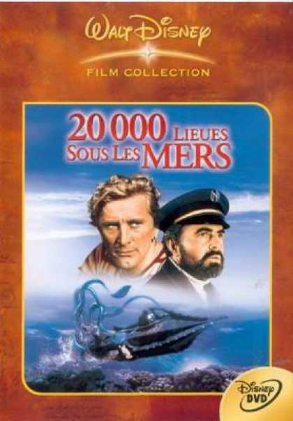 French DVDs - 20000 Leagues Under The Sea