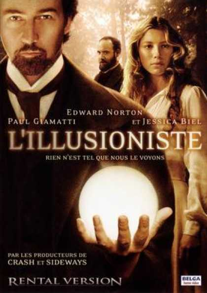 French DVDs - The Illusionist