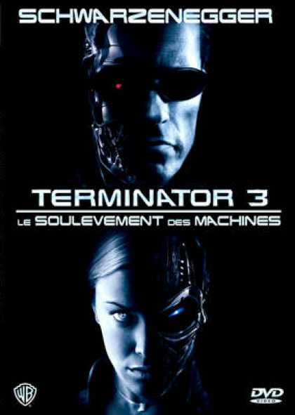 French DVDs - Terminator 3