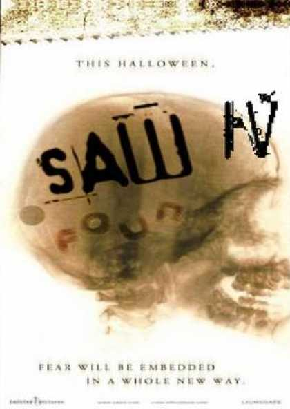 French DVDs - SAW 4