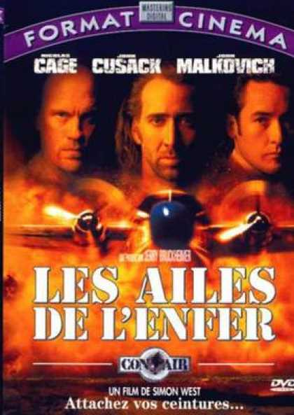 French DVDs - Con Air