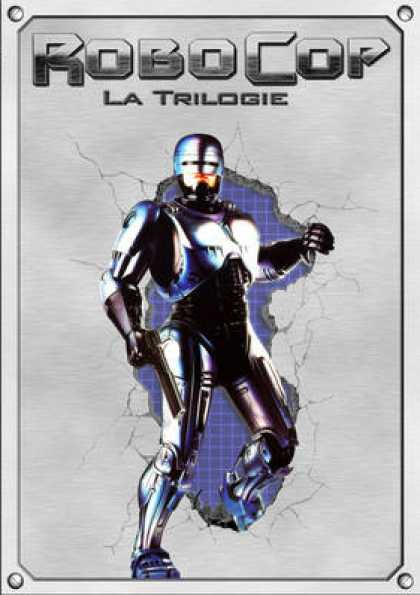 French DVDs - Robocop Trilogy