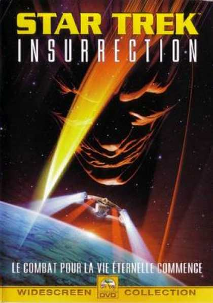 French DVDs - Star Trek: Insurrection