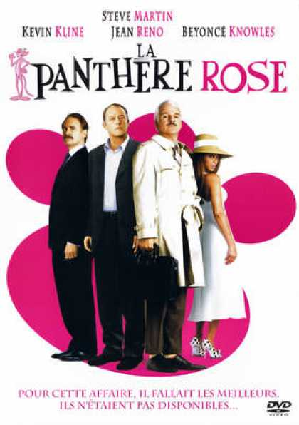 French DVDs - La Panthere Rose
