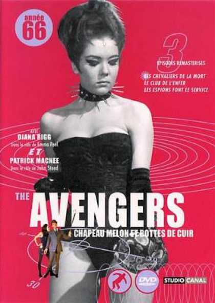French DVDs - The Avengers 1966 Vol 3