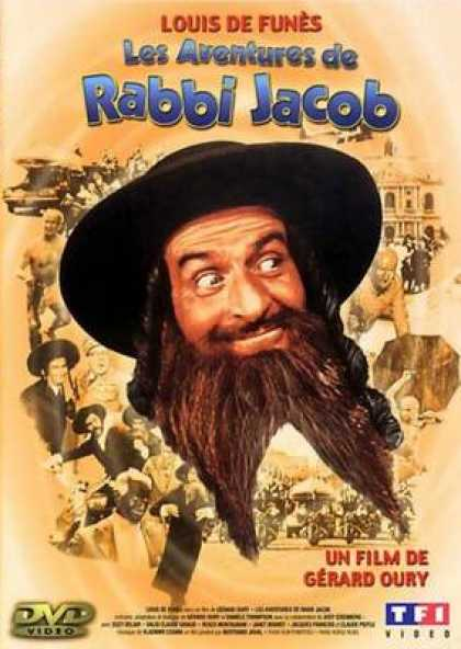 French DVDs - The Adventures Of Rabbi Jacob
