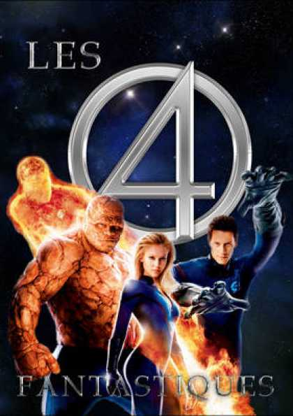French DVDs - Fantastic Four