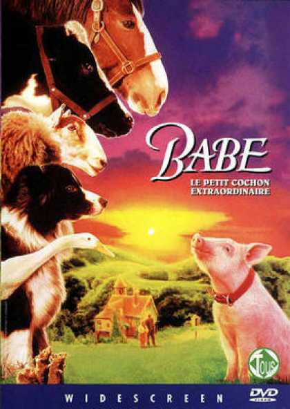 French DVDs - Babe