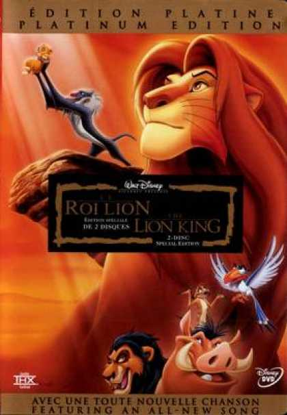 French DVDs - The Lion King Special Edition French Canadian