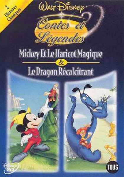 French DVDs - Disneys Heros And Legends Vol 6