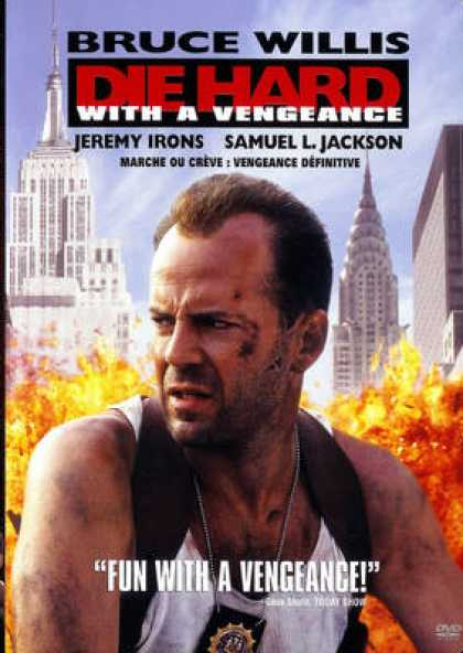 French DVDs - Die Hard 3 FRENCH ENGLISH