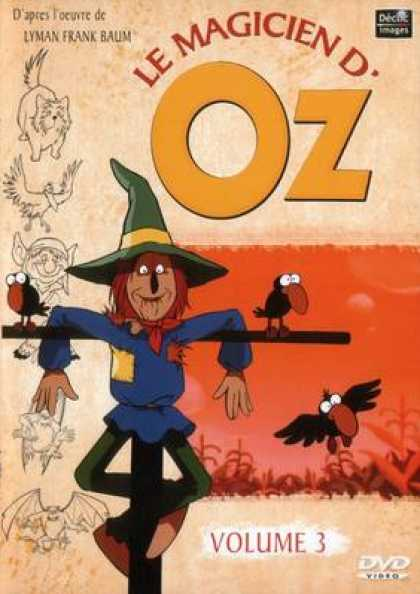 French DVDs - The Wizard Of Oz Cartoon Volume 3