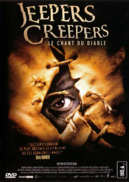 French DVDs - Jeepers Creepers