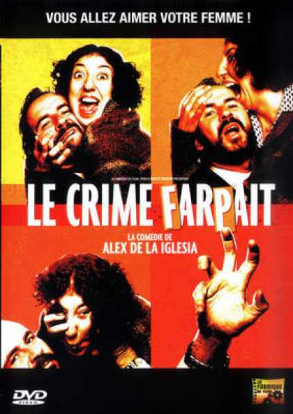 French DVDs - Le Crime Farpait