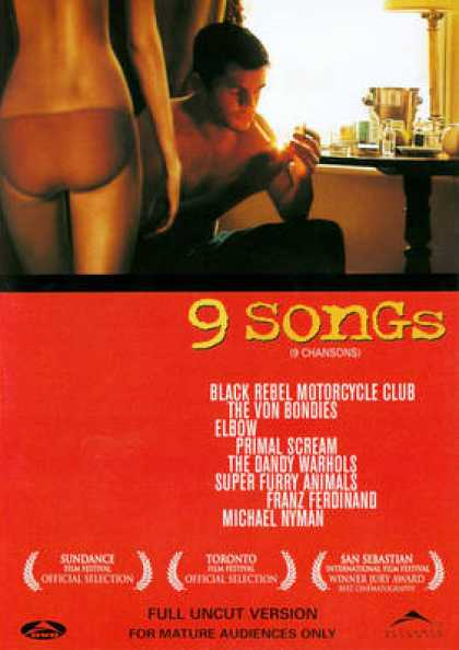 French DVDs - 9 Songs