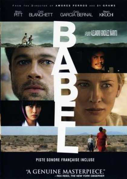 French DVDs - Babel