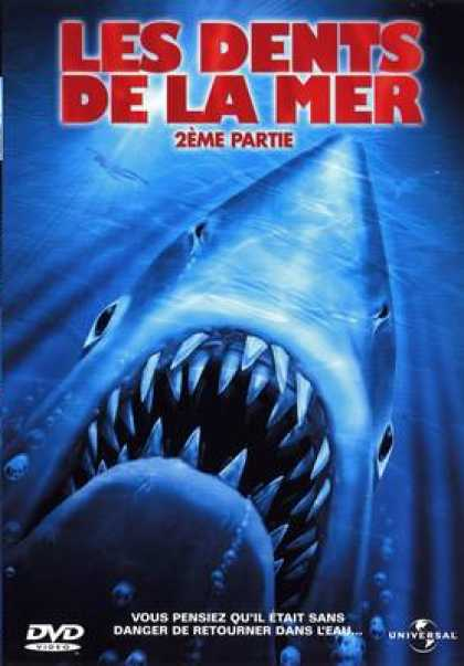 French DVDs - Jaws 2
