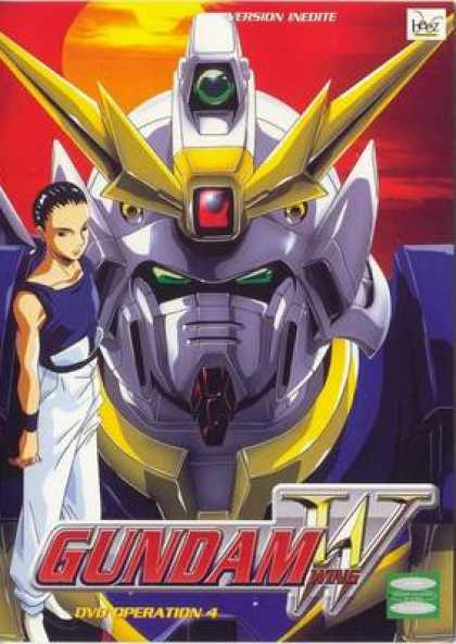 French DVDs - Gundam Wing Operation 4