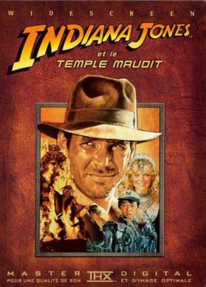 French DVDs - Indian Jones And The Temple Of Doom