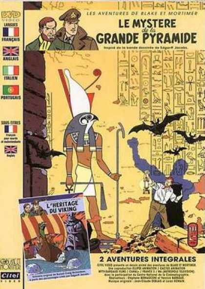 French DVDs - Blake And Mortimer The Great Pyramid
