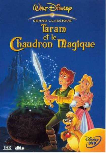 French DVDs - The Black Cauldron