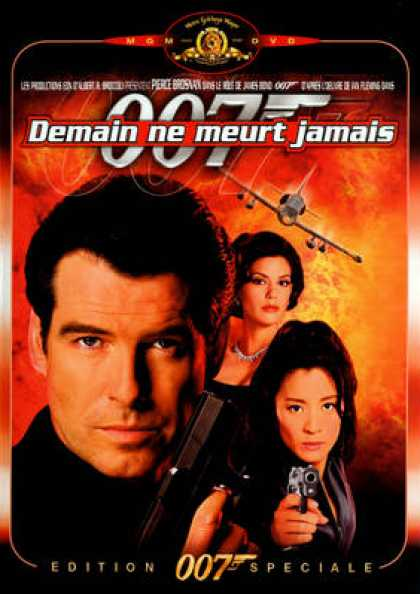 French DVDs - 007 James Bond - Tomorrow Never Dies