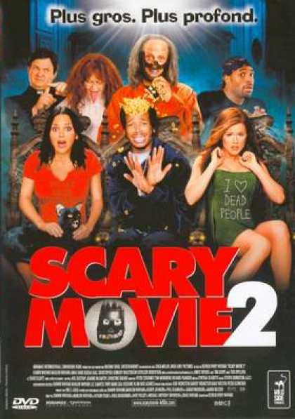 French DVDs - Scary Movie 2