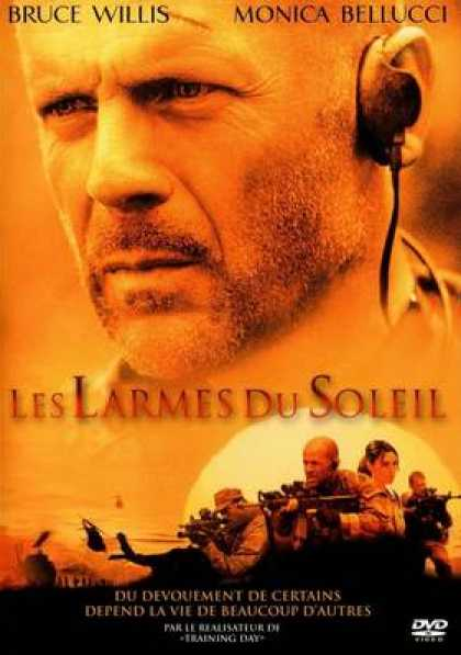 French DVDs - Tears Of The Sun