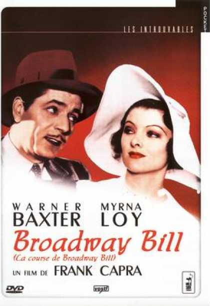French DVDs - Broadway Bill (Strictly Confidential)