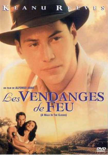 French DVDs - A Walk In The Clouds