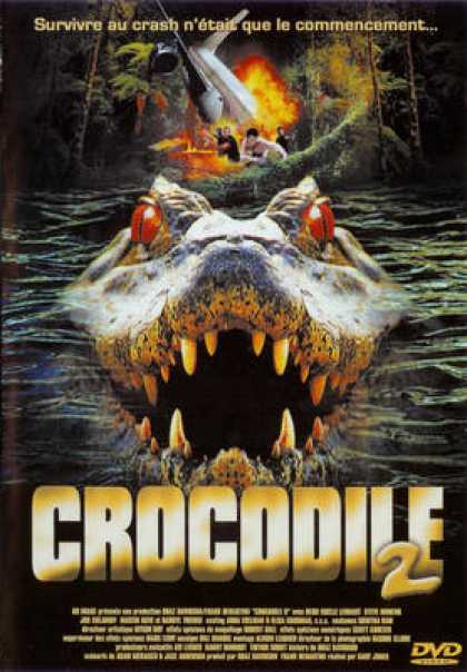 French DVDs - Crocodile 2