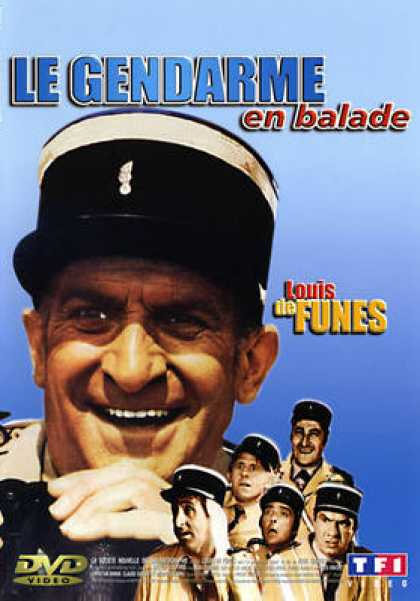 French DVDs - The Gendarme Takes Off