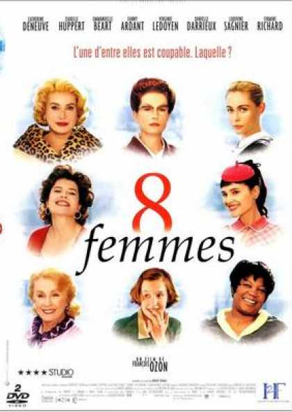 French DVDs - 8 Women