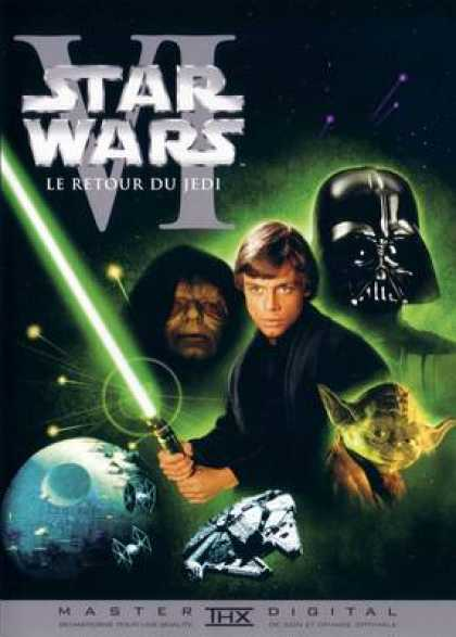French DVDs - Star Wars Episode 6 The Return Of Jedi