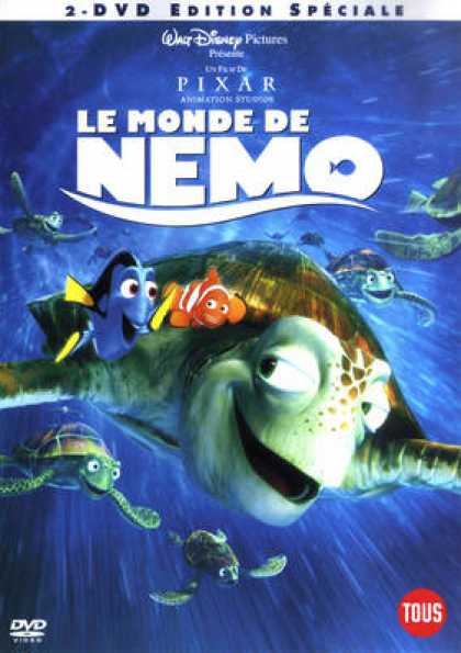 French DVDs - Finding Nemo