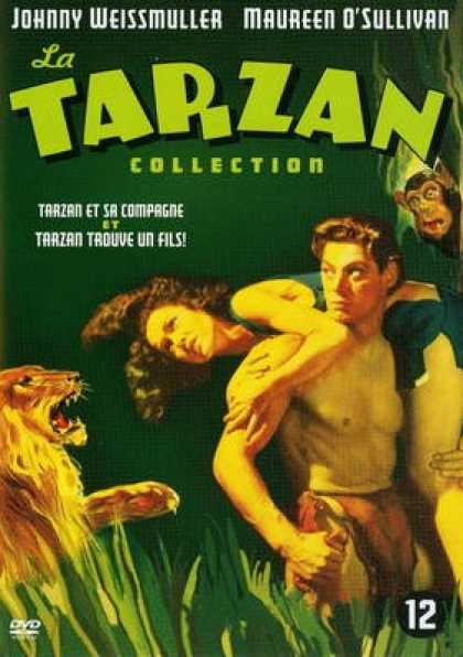 French DVDs - Tarzan And His Mate And Finds A Son
