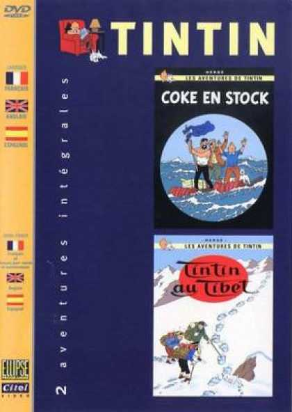 French DVDs - The Adventures Of Tin Tin Vol 1