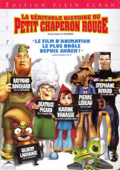 French DVDs - Hoodwinked