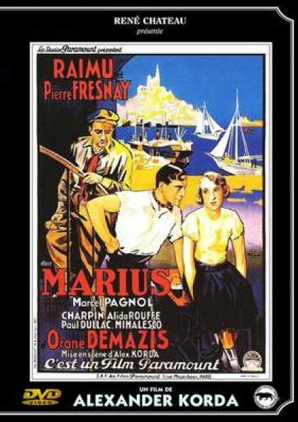 French DVDs - Marius