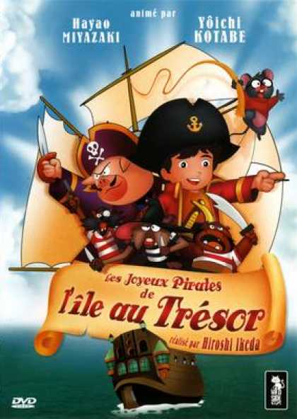 French DVDs - Les Joyeux Pirates De L Ile Au Trssor