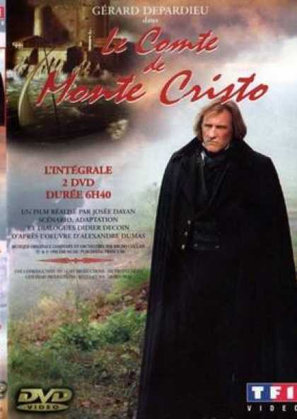 French DVDs - The Count Of Monte Christo