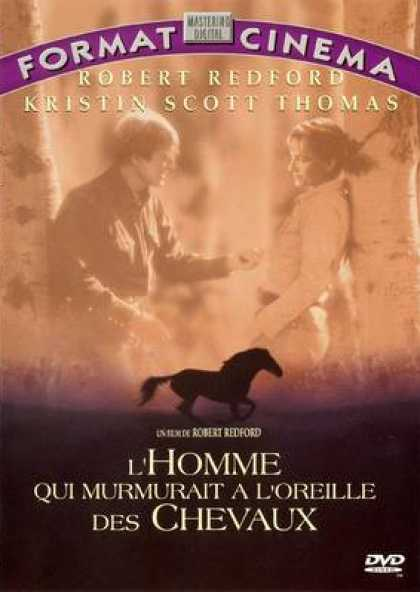 French DVDs - The Horse Whisperer