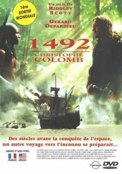 French DVDs - 1492 Christopher Columbus