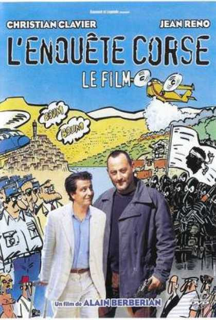 French DVDs - The Corsican Inquiry